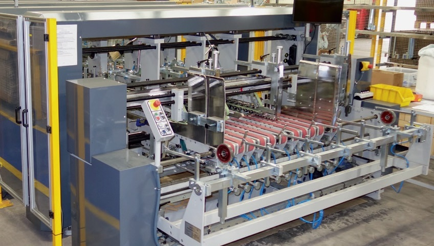 The Omega Magnus 230 at Corrugated Case Company UK